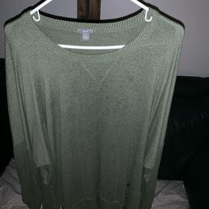 Green American Eagle- Aerie sweater